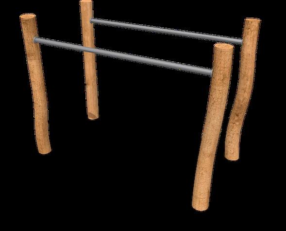 7186 R - Barres parallèles