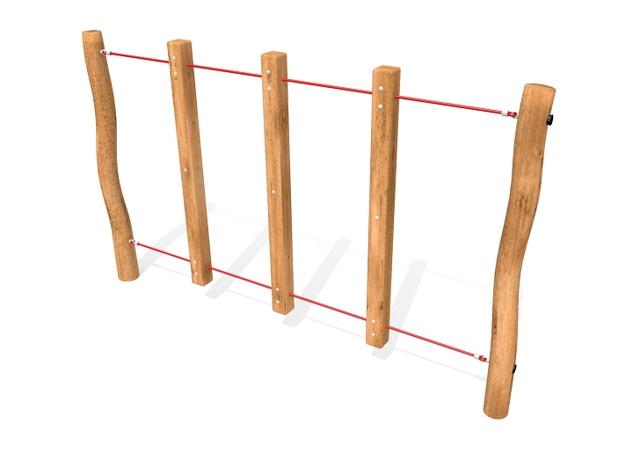 7421R - Barres Verticales sur cordes